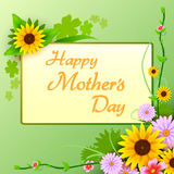 Happy Mother's Day celebration background Royalty Free Stock Photography