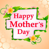 Happy Mother's Day celebration background Stock Images