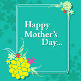 Happy Mother's Day celebration background Stock Photo
