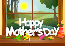 Happy Mother's Day celebration background Stock Photography