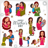 Happy Mothers Day celebration concept. Stock Photography
