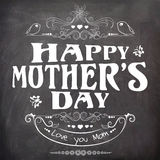 Happy Mother's Day celebration poster or banner design. Royalty Free Stock Photo