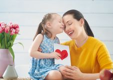 Happy mother`s day royalty free stock photos