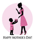 Happy Mother's Day! Royalty Free Stock Photo