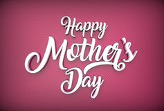Happy Mother`s day concept. Best Mom. 3D illustrating. Royalty Free Stock Images