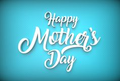 Happy Mother`s day concept. Best Mom. 3D illustrating. Stock Images
