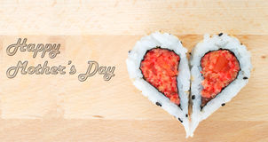Happy Mother's Day concept Stock Image