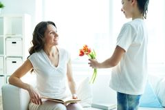 Happy mother's day! Royalty Free Stock Photography