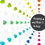Happy mother's day design Royalty Free Stock Photos