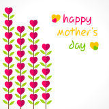 Happy mother's day design Royalty Free Stock Photo
