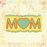 Happy Mother's Day. EPS 8 Royalty Free Stock Image