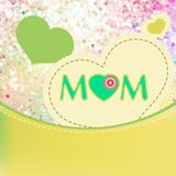 Happy Mother's Day. EPS 10 Royalty Free Stock Photography