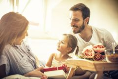 Happy mother`s day. stock photography