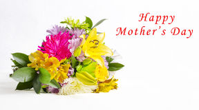 Happy Mother's Day Flowers Royalty Free Stock Image