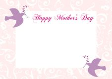 Happy Mother's Day Frame Stock Images