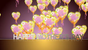 Happy Mother's Day stock video footage
