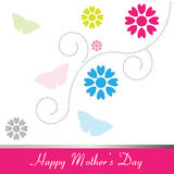 Happy Mother's Day greeting card Stock Photography