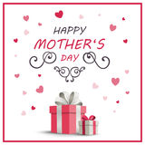 Happy Mother`s Day Greeting Card Design. Illustration of a Happy Mothers Day Greeting Card Design Stock Photography