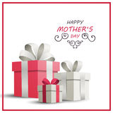 Happy Mother`s Day Greeting Card Design. Illustration of a Happy Mothers Day Greeting Card Design Stock Image
