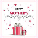 Happy Mother`s Day Greeting Card Design Royalty Free Stock Image