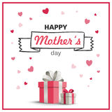 Happy Mother`s Day Greeting Card Design. Illustration of a Happy Mothers Day Greeting Card Design Royalty Free Stock Photos