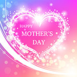 Happy Mother's Day Greeting Card. Royalty Free Stock Photography
