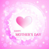 Happy Mother's Day Greeting Card. Royalty Free Stock Images