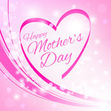 Happy Mother's Day Greeting Card. Stock Images