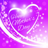 Happy Mother's Day Greeting Card. Stock Image