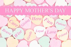 Happy Mother`s Day Greeting of how you care for her Royalty Free Stock Photos