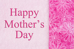 Happy Mother's Day Greeting Royalty Free Stock Photo