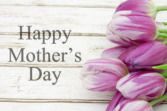 Happy Mother`s Day Greeting Royalty Free Stock Photos