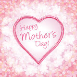 Happy mother's day  illustration Royalty Free Stock Image