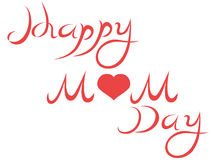 Happy mother's day letters Royalty Free Stock Images