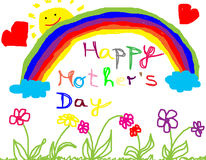 Happy mother´s day Stock Image