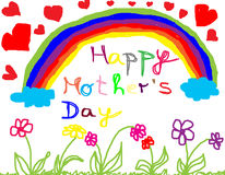 Happy mother´s day Royalty Free Stock Images