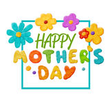 Happy mother`s day Stock Photos