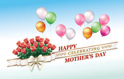 Happy Mother`s Day Royalty Free Stock Image