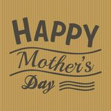 Happy mother s day. Suitable for gift card or other Stock Images