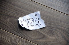Happy Mother's Day Typography Stock Images