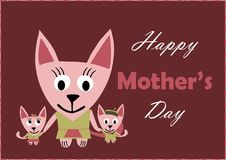 Happy Mother's Day royalty free illustration