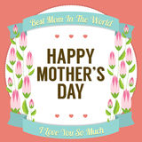 Happy Mother's Day stock illustration