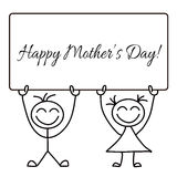 Happy mother s day Stock Image
