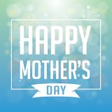 Happy Mother`s Day. Vector illustration. Eps10 Vector Background Royalty Free Stock Photography