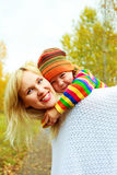 Happy mother and son Royalty Free Stock Photos