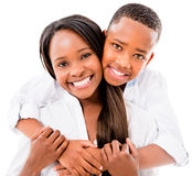 Happy mother and son Stock Photography