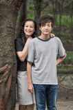 Happy mother and sweet son Royalty Free Stock Photography