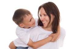 Happy Mother With Her Child Stock Image