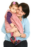 Happy Mother With Little Daughter Stock Photography