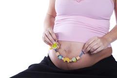 Happy motherhood Stock Image